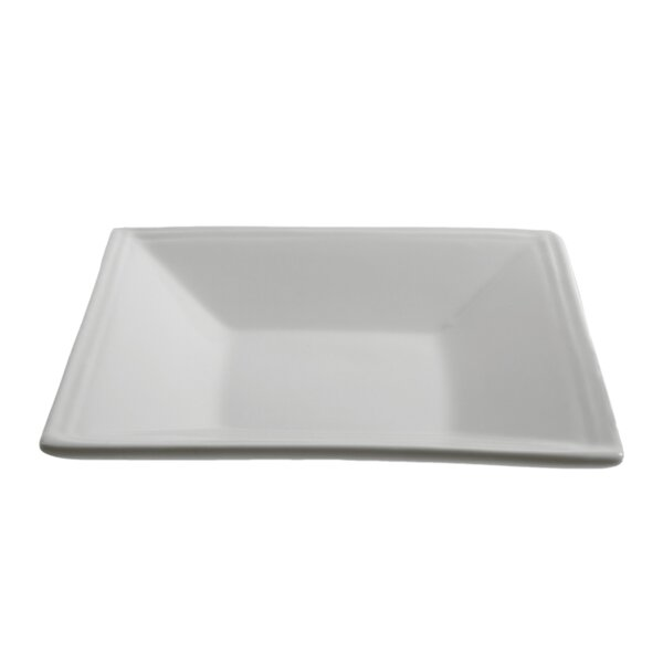Allender White Square Tid Bit Platter (Set of 6) by Latitude Run