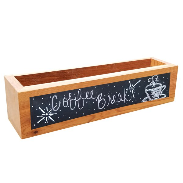 Logan Square Planter Box with Chalkboard by Gracie Oaks