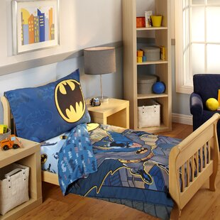 4 Piece Toddler Bedding Set