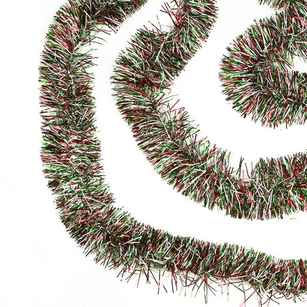 Christmas Tinsel Garland.50 Festive Christmas Tinsel Garland