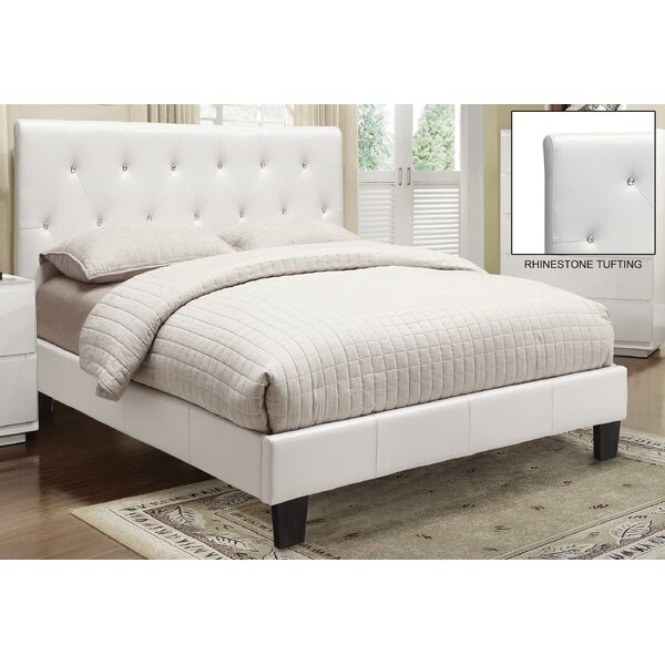 Upholstered Platform Bed by WorldWide HomeFurnishings