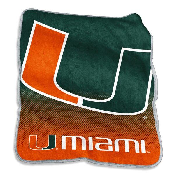 Miami Raschel Throw by Logo Brands