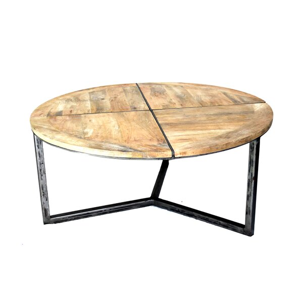 Asbury Distressed Coffee Table by Loon Peak Loon Peak