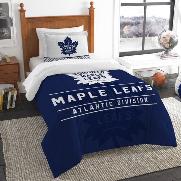 NHL Draft 2 Piece Twin Comforter Set by Northwest Co.