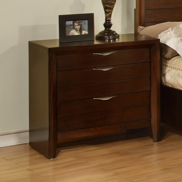 Lancaster 3 Drawer Nightstand by Wildon Home®