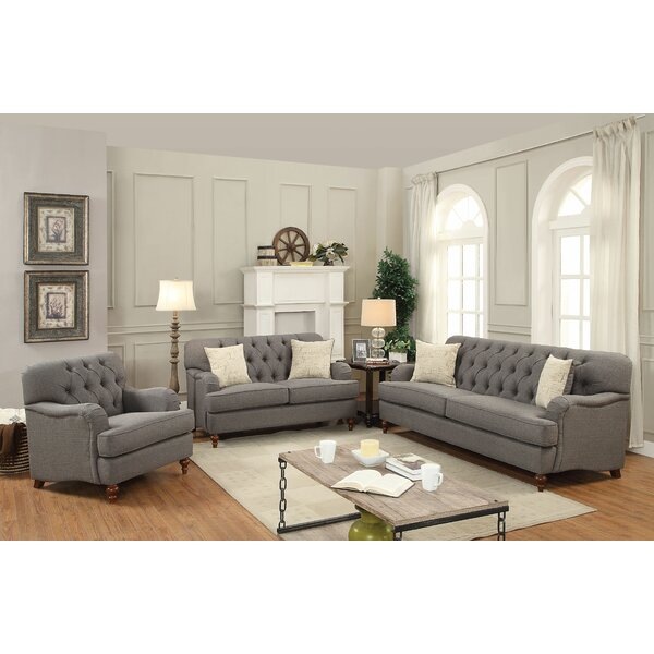 Oakes Configurable Sofa Set by Canora Grey