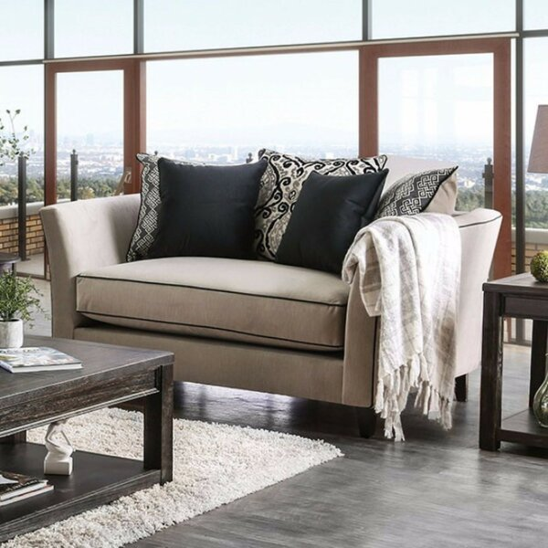 Leland Loveseat by Canora Grey