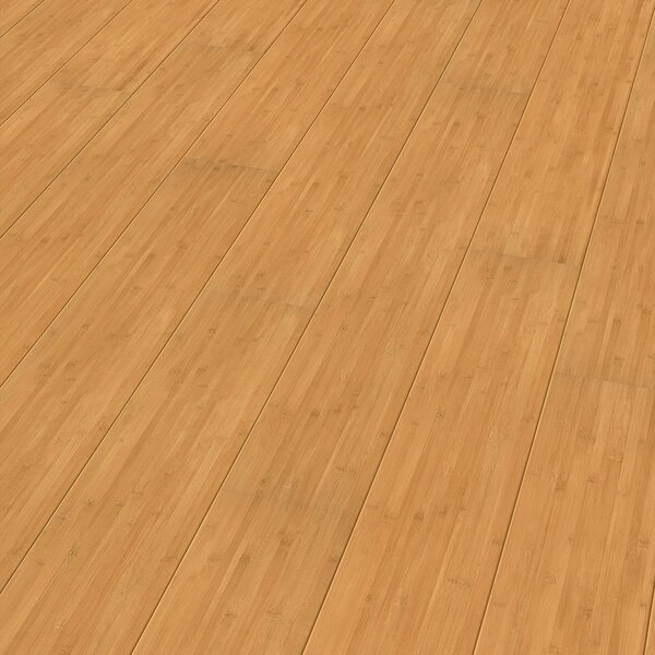7 x 51 x 9mm Bamboo Laminate Flooring in Tan by ELESGO Floor USA