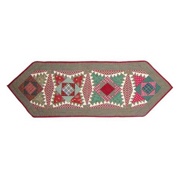 Yuletide Stars Table Runner by Patch Magic