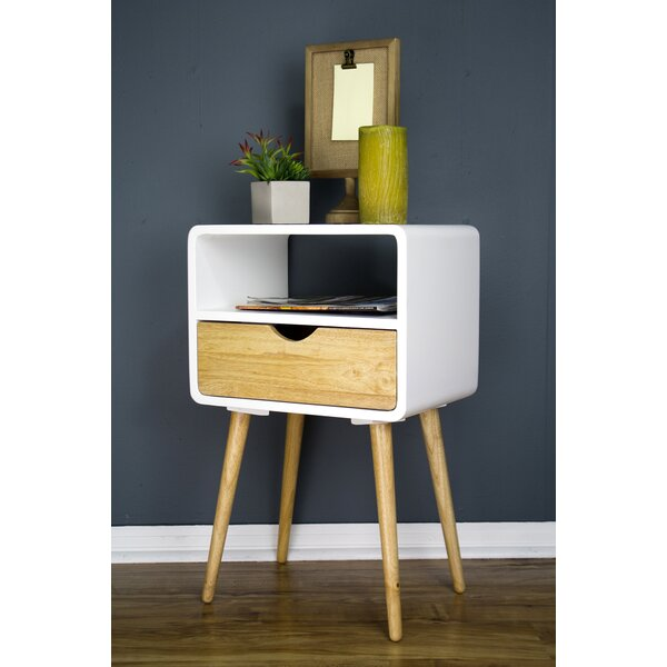 Hendry Euro End Table By George Oliver