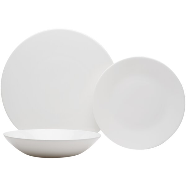 Extreme 18 Piece Bone China Dinnerware Set, Service for 6 by Red Vanilla
