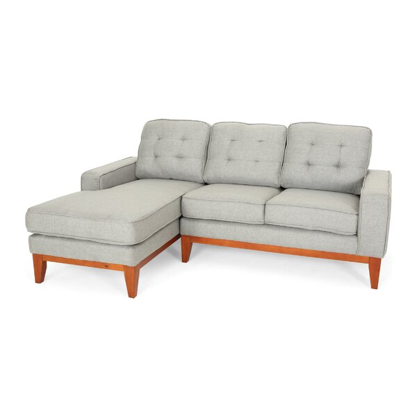 Marshallville Left Hand Facing Sectional By Wrought Studio