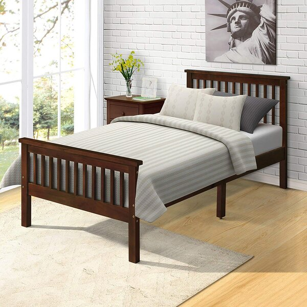 Burkhalter Twin Upholstered Platform Bed by Red Barrel Studio