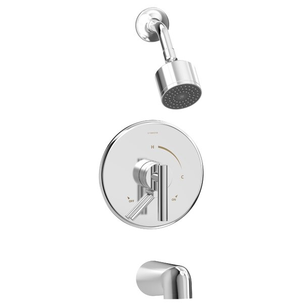 Dia Volume Control Tub And Shower Faucet By Symmons
