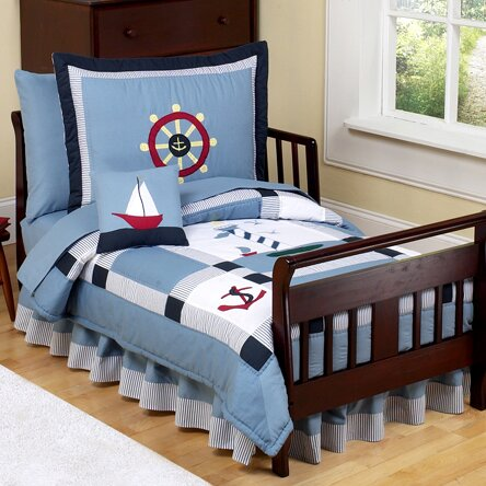 Come Sail Away 5 Piece Toddler Bedding Set by Sweet Jojo Designs