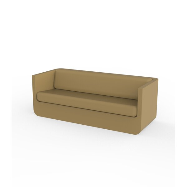 Ulm Chesterfield 78.75 inch  Rolled Arms Patio Sofa by Vondom