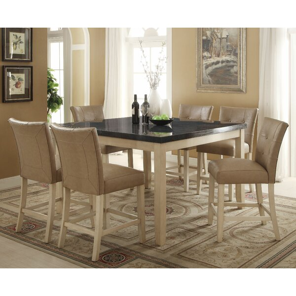 Lovette 7 Piece Pub Table Set by Red Barrel Studio