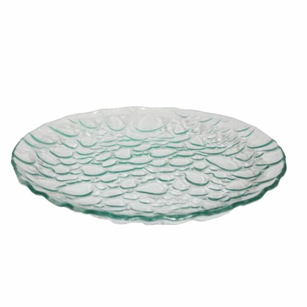 Round Glass Decorative Plate by Ebern Designs