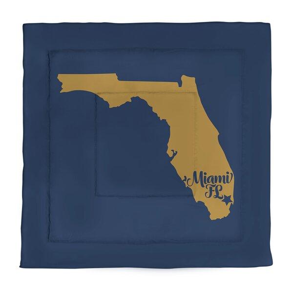 Miami Single Reversible Comforter