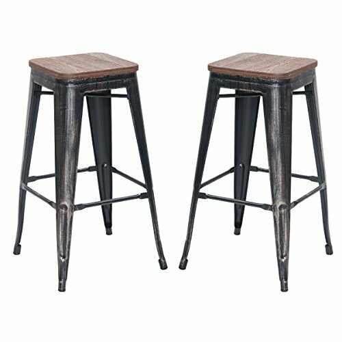 Stephen 30 Bar Stool (Set of 2) by 17 Stories