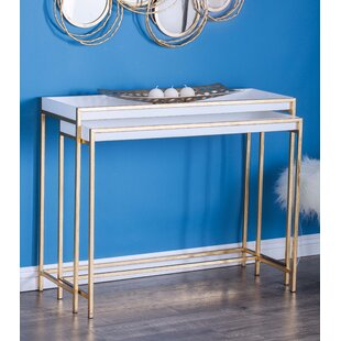 Find a 2 piece nesting tables bycole grey on console sofa tables 2 piece nesting tables watchthetrailerfo