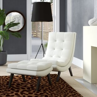 Best Price Woodbine Lounge Chair ByWade Logan