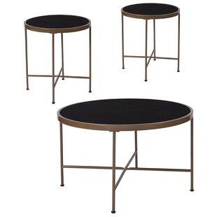 Brecken 3 Piece Coffee Table Set ByEbern Designs