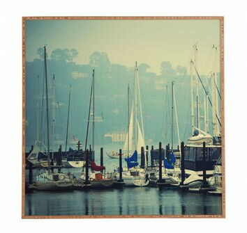 Yacht Club Framed Photographic Print by Breakwater Bay