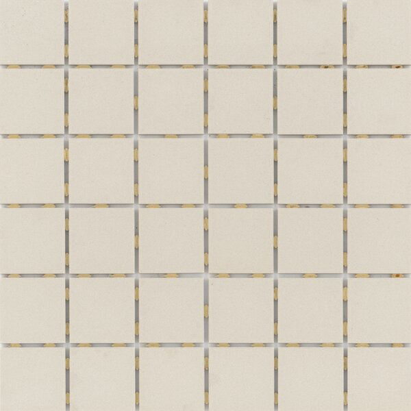 Zone 2 x 2 Porcelain Mosaic Tile in Matte Fawn by Emser Tile