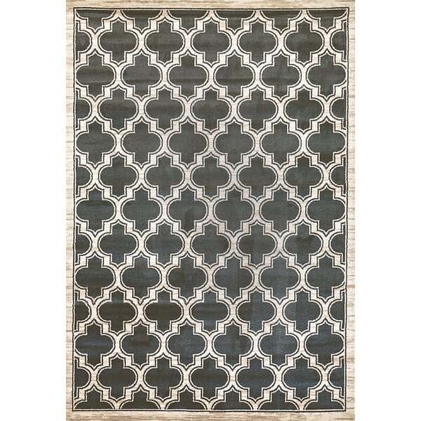 Mishawaka Green/Beige Area Rug by Charlton Home