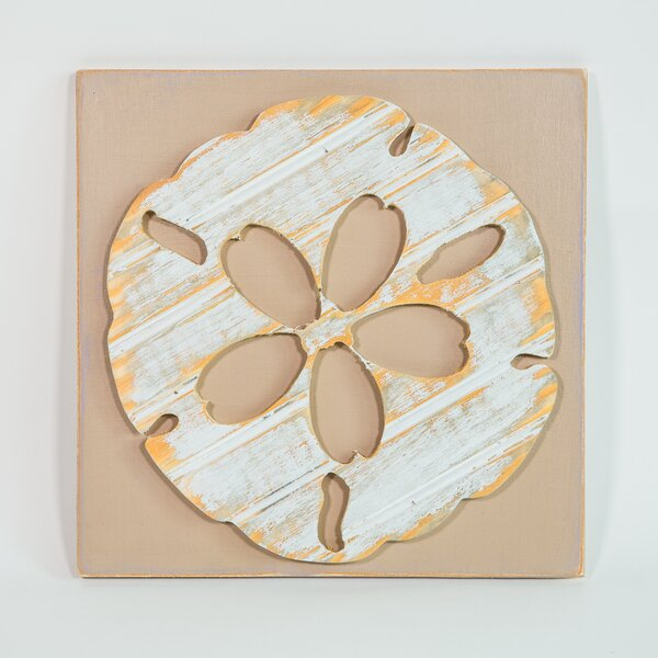Sand Dollar Wood Wall Décor by Bay Isle Home
