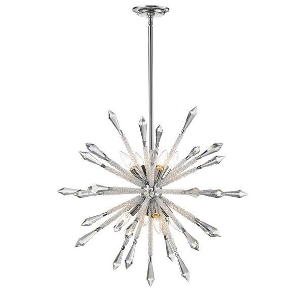 Pickering 8 - Light Sputnik Sphere Chandelier By Brayden Studio