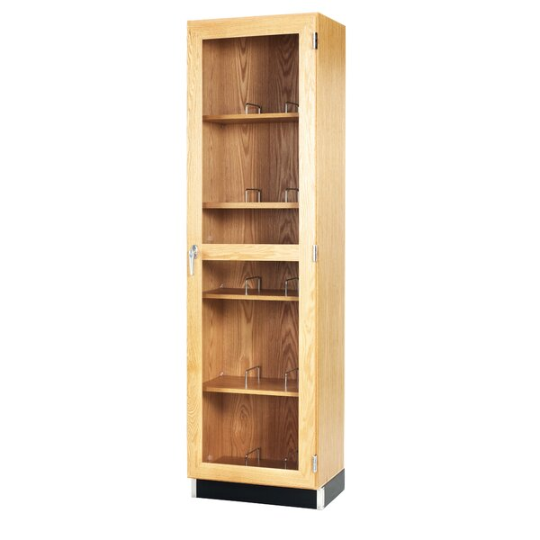 Mobile Series 5 Tier 1 Wide Storage Lockers by Diversified Woodcrafts