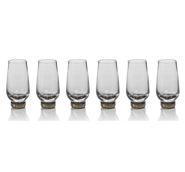 Galiotto Shot Glass (Set of 6) by Zodax