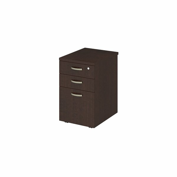 Easy Office 3-Drawer Mobile Vertical Filing Cabinet by Bush Business Furniture