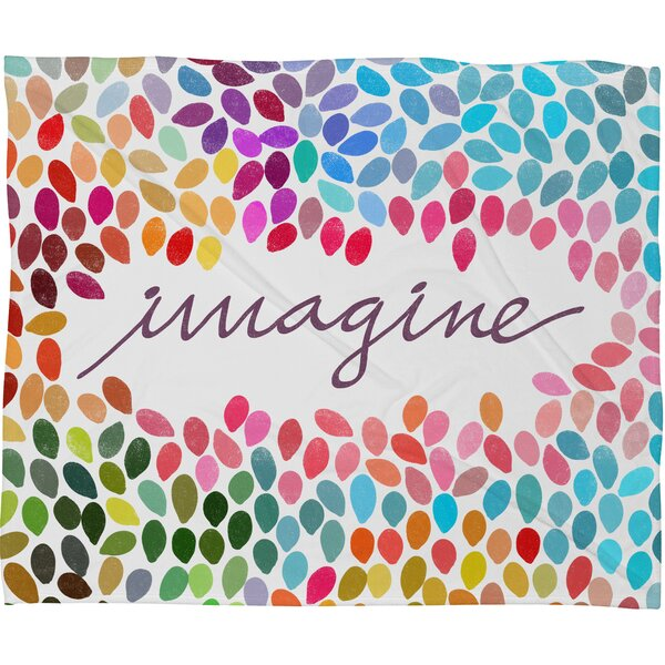 Imagine 1 Throw Blanket by Brayden Studio
