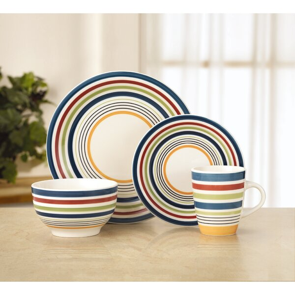 Morocco 16 Piece Dinnerware Set, Service for 4 by Pfaltzgraff Everyday