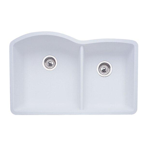 Diamond 32 L x 19 W Bowl Undermount Kitchen Sink by Blanco