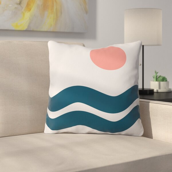 The Old Art Studio Nautical Throw Pillow by East Urban Home