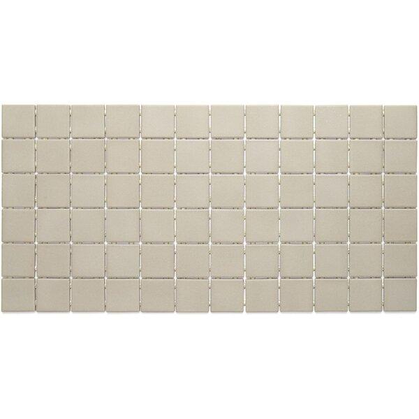 Dalton 12 x 24 Porcelain Mosaic Tile in Architectural Gray by Itona Tile