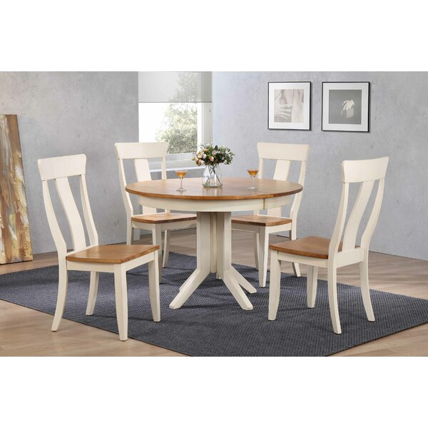 Alisha 5 Piece Dining Set by Alcott Hill