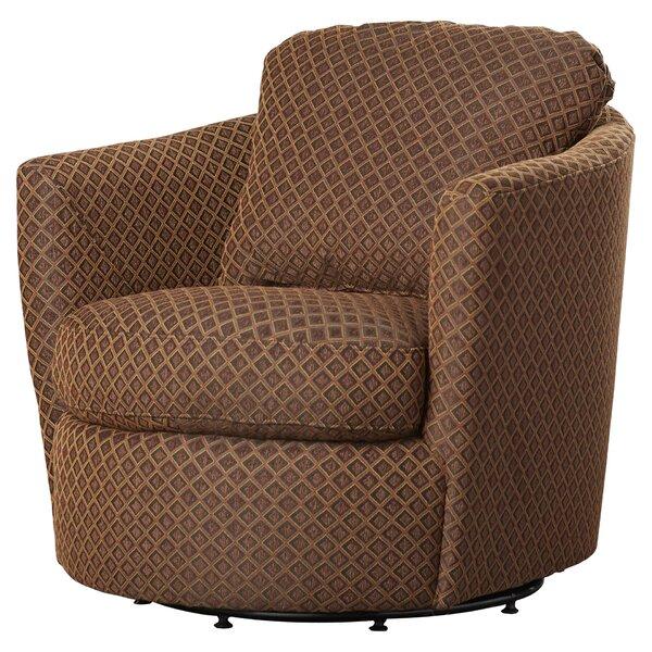 Vidrio Swivel Barrel Chair By Red Barrel Studio®