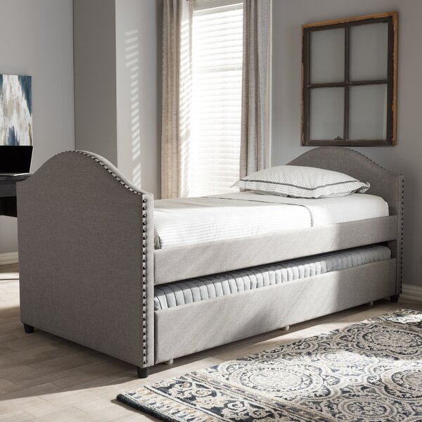 Rubenstein Twin Daybed with Trundle Bed by Willa Arlo Interiors