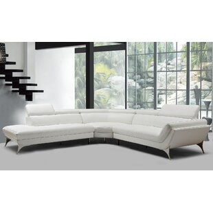 Goza Modern Leather Sectional