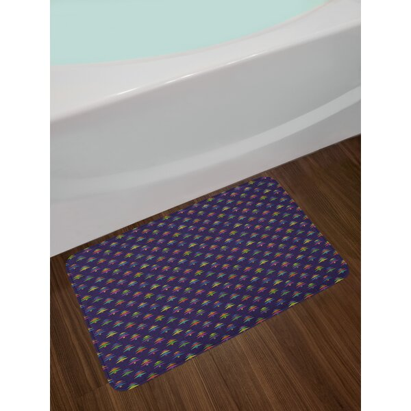 Nordic Colorful Bath Rug by East Urban Home