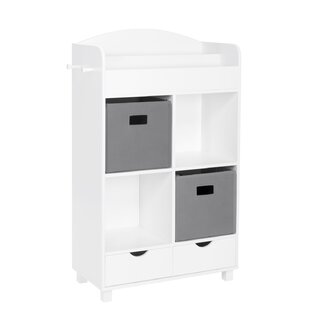 Showers Kids Cubby Storage 39.75 Cube Unit by Harriet Bee