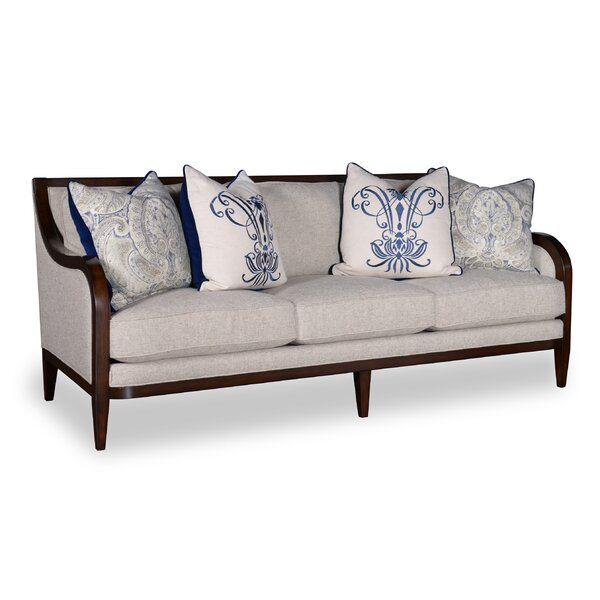 Marylhurst 3 Seat Linen Sofa by Canora Grey