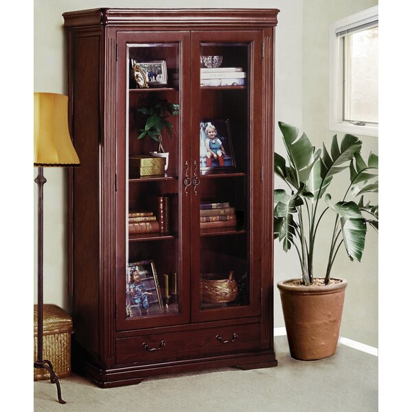 Uxbridge Display China Cabinet by Alcott Hill