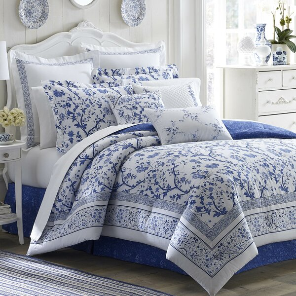 Charlotte Comforter Collection by Laura Ashley Home