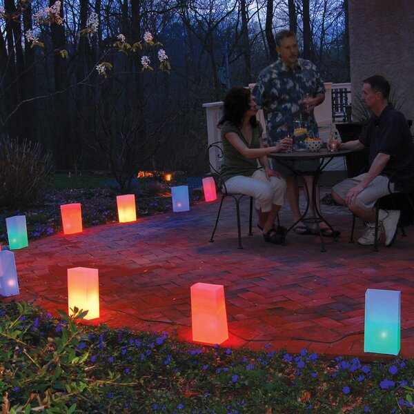 Electric Luminaria Kit 10 Lights Luminary (Set of 10) by Luminarias